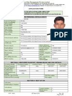 INDIAN RYAN APPLICATION FORM