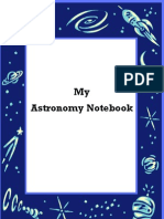 Astronomy Notebook
