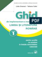 I_Ghidul profesorului, Limba si literatura romana cl.1 (a. 2019) (1).pdf
