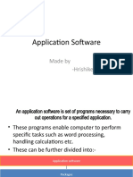 [Application Software]