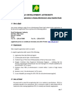 GUIDELINES FOR APPLICATIONS RDA Mauritius