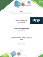 Fase 1 Introduccion a La Gestion Integral de Residuos Solidos
