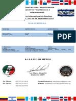 CURSO DE ESCOLTAS Y AUTOPROTECCIÓN FORMULARIO