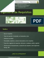 Ingeniería de Requisitos Ing. Software