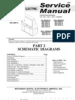 Mitsubishi V23 Schematics