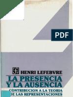 Lefebvre - La Presencia y La Ausencia
