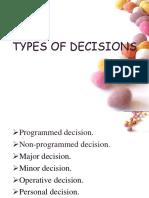 decision types