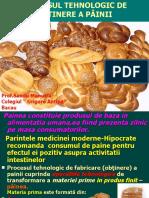 Procesul tehnologic de fabricare a painii-Modulul III Tehnologii specifice de obținere a produselor de morărit și panificație-cls a XI-a.ppt