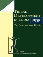 Govind Chandra Rath - Tribal development in india_ The contemporary debate