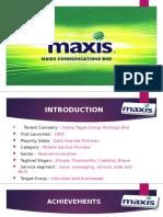 maxis presentation