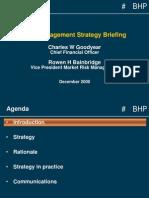 BHP - Enterprise Risk Management
