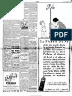 El Sol 1926-11-11 Anuncio conferencia AC en Unión Iberoamericana ese día