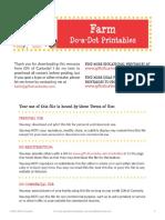 Farm-Do-a-Dot-Printables