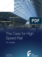 The case for high speed rail - an update