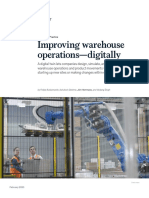 Improving Warehouse Operations Digitally