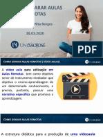 Como Preparar Aulas Remotas - Professores - Rita Borges