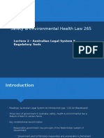 2, 2018 Safety & Environmental Health Law 265  - Lecture 2(7) (1)