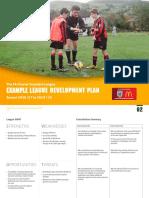 example-charter-standard-league-development-plan