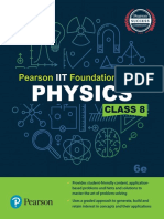 Trishna Knowledge Systems - Pearson IIT Foundation Series - Physics Class 8 (2017, Pearson Education)