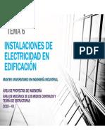 TEMA 6 ELECTRICIDAD EDIFICACIÓN 18-3