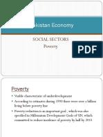 Pakistan Economy poverty