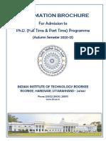 Ph.D. 2020-21 Information Brochure .pdf