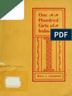 one hundred girls oof India