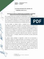 Protocolo Firmado - Criterios de Reincorporacion Laboral en Pandemia Sars-cov-2