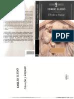 Emilio Lledó - Filosofia y lenguaje.pdf