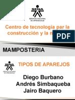EXPO MAMPOSTERIA TIPOS DE APAREJOS
