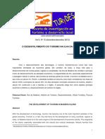 Artigo Noémi - O DESENVOLVIMENTO DO TURISMO NA ILHA DA MADEIRA