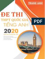 20 Đề thi thử Tiếng Anh 2019 - cô Trang Anh (bản Word).docx