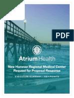 Atrium Executive Summary - NHRMC RFP