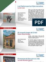 Libros de Bolsillo Julio 2019 NACIONAL