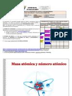 MODULO QUIMICA GRADO 10 - 1P - MASA ATOMICA Y NUMERO ATOMICO jornada mañana.docx