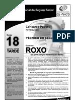 Prova Do Cargo 18 - Caderno Roxo