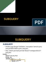 Sub Query