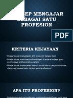Konsep Mengajar Sebagai Satu Profesion (pmbntgn nab anis).pptx