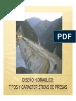DISEÑO HIDRAULICO UCSM 2010 SESION 14 TIPOS Y CARACTERISTICAS