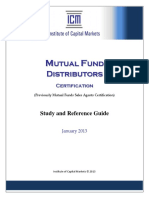 ICM_Mutual Fund Distributors (Study and Reference Guide-January 2013)