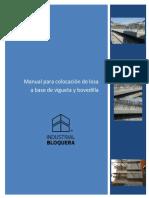Manual Para Colocación de Losa a Base de Vigueta y Bovedilla