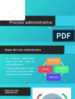 Proceso administrativo 2020-2