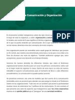 La relación entre Comunicación y Organización (4)