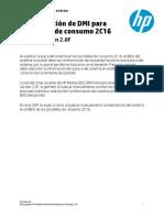 HP Consumer Notebook DMI Program SOP