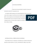 PROCESO DE FABRICACION DE UN ENGRANE