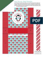 Printable Holiday Treat Bag Freebie - The Twinery