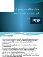 Patient Preparation for Panoramic X-ray Ppt