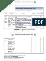 Trilha de Aprendizagem -1a série ( Eletrônica, Eletrotécnica, Mecânica e Eletromecânica)