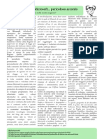 Regione Puglia e Microsoft... pericoloso accordo - Salug Journal 0x0a