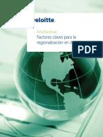 Factores claves para la regionalización en América Latina
